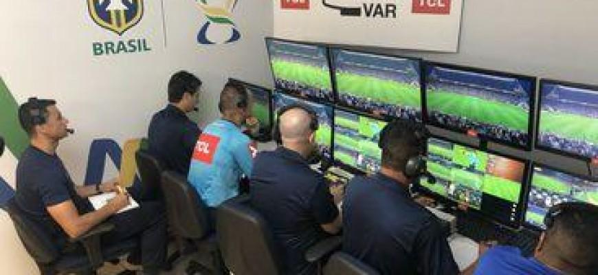 Brasileirão 2019 terá o árbitro de vídeo em todas as partidas