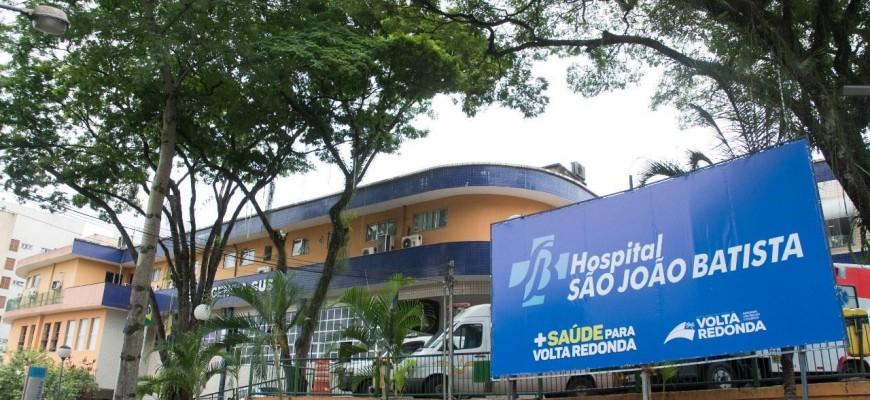 MORRE, EM VOLTA REDONDA,  IDOSO COM SINTOMAS DE CORONAVIRUS NO HOSPITAL SÃO JOÃO BATISTA