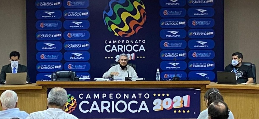 Festa do Campeonato Carioca na casa nova