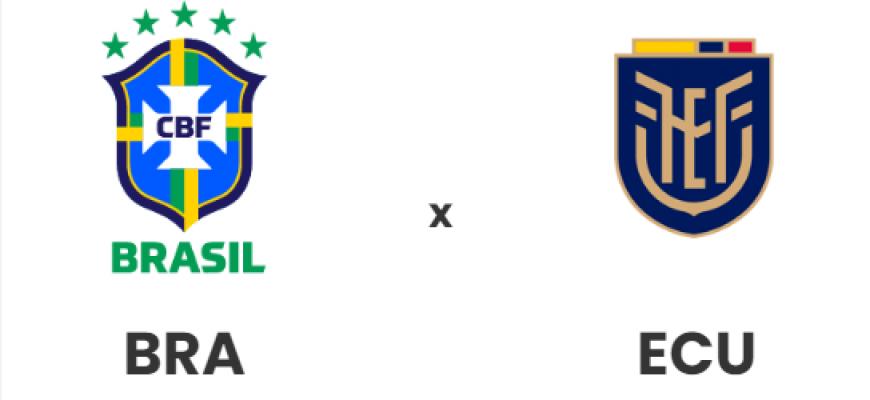 Brasil enfrenta o Equador pelas Eliminatórias da Copa do Mundo