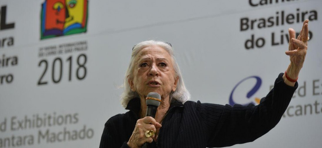 Fernanda Montenegro está hospitalizada no Rio de Janeiro.