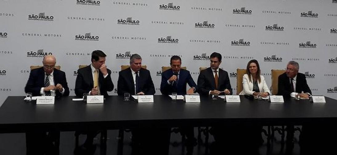 GM desiste de fechar fábricas e anuncia investimento de R$ 10 bilhões