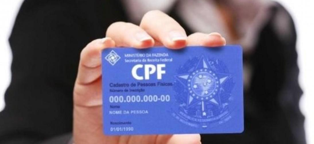 Publicado decreto que permite o uso de CPF no lugar de outros documentos