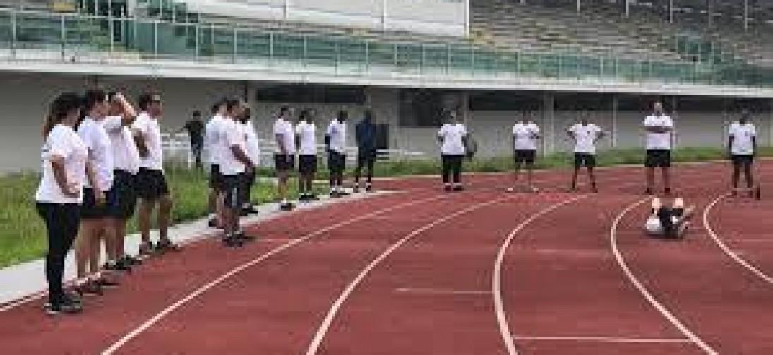 Começou ontem o aquecimento para os Jogos da Melhor Idade em Movimento (JOMIM) na Arena Esportiva em Volta Redonda