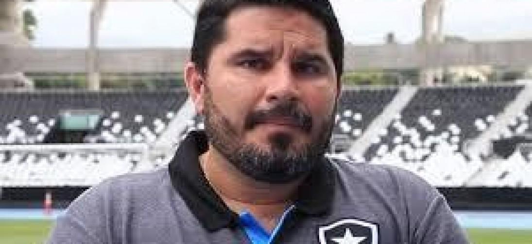 Entrevista coletiva do novo treinador do botafogo FR