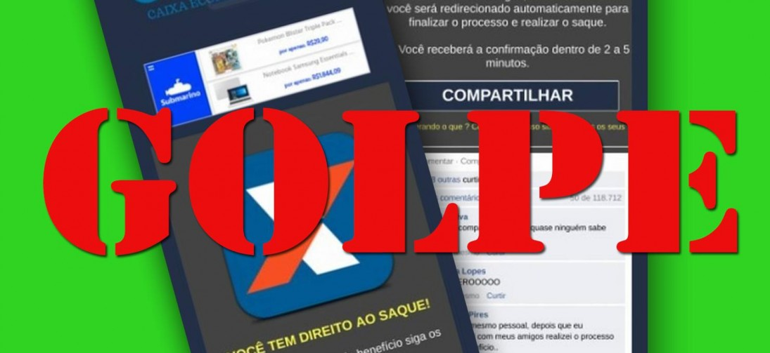 GOLPISTAS USAM SAQUE DO FGTS PARA ROUBAR DADOS DO CELULAR