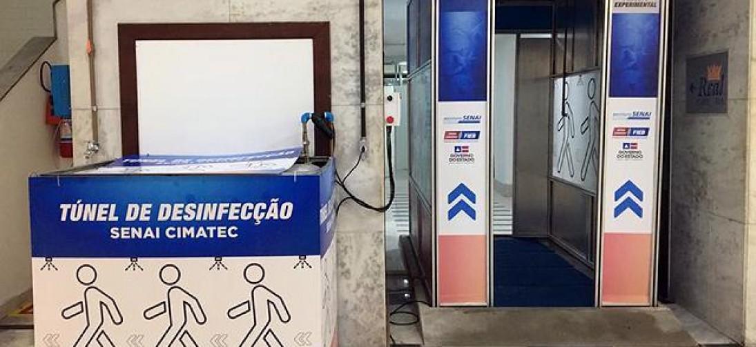 TÚNEL PARA DESINFECÇÃO DE PESSOAS NÃO TEM EFICÁCIA COMPROVADA
