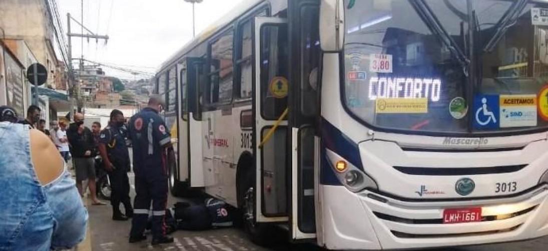 VOLTA REDONDA: MULHER MORRE ATROPELADA POR ÔNIBUS