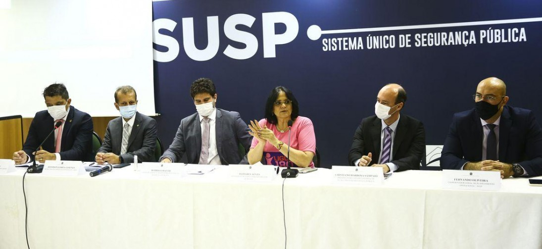 Megaoperação em todo o país combate crimes contra as mulheres
